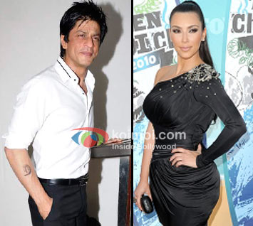 Shah Rukh Khan, Kim Kardashian