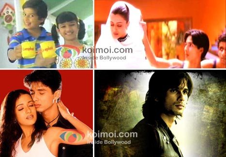 Shahid Kapoor Over The Years