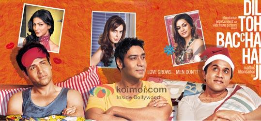Dil Toh Baccha Hai Ji Movie Wallpaper