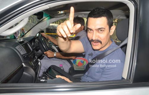 Aamir Khan Receives Maharashtrian Of The Year Award