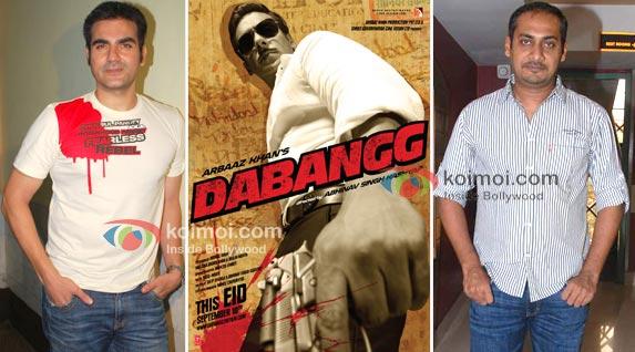 Arbaaz Khan To Direct Salman Khan In Dabangg 2; Abhinav Kashyap Out