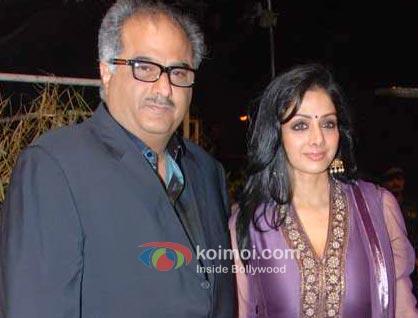 Boney Kapoor, Sridevi