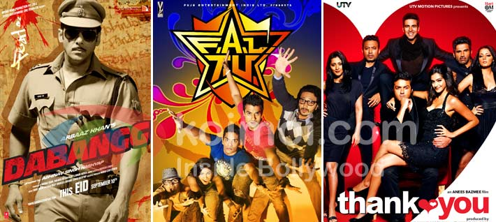 Dabangg, FALTU, Thank You (India Vs Pakistan: When It Comes To Box-Office)