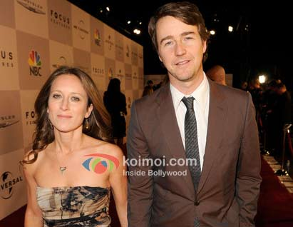 Shauna Robertson, Edward Norton Gets Engaged In India