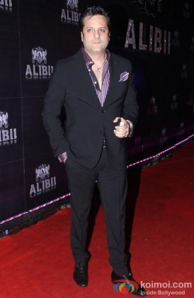 Fardeen Khan during the celebration of Sridevi's 50th birthday