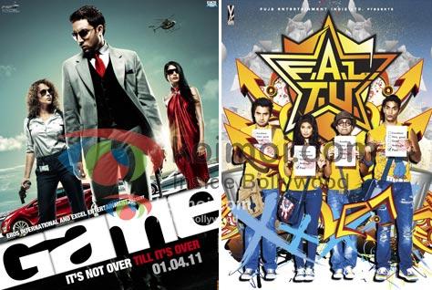 Game Movie Poster, FALTU Movie Poster