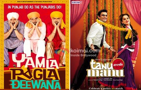 Getting Lucky With Yamla Pagla Deewana, Tanu Weds Manu