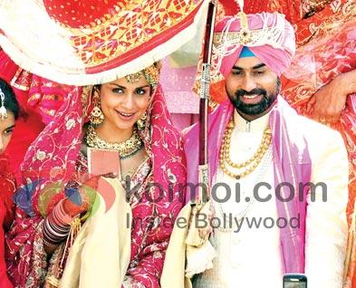 Gul Panag Wedding With Rishi Attari (Gul Panag Wedding Photo)
