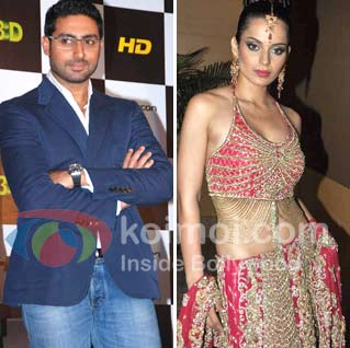Kangana Ranaut Will Be Abhishek Bachchan's Wife In RGV's Department