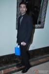 Karan Johar with his goody bag