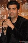 Karan Johar waits his turn to speak