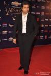 Karan Johar poses on the red carpet