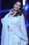 Madhuri Dixit on the sets of Jhalak Dikhla Jaa