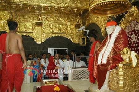 Preity Zinta At Shirdi