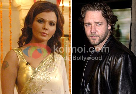 Rakhi Sawant Will Not Kiss Russel Crowe