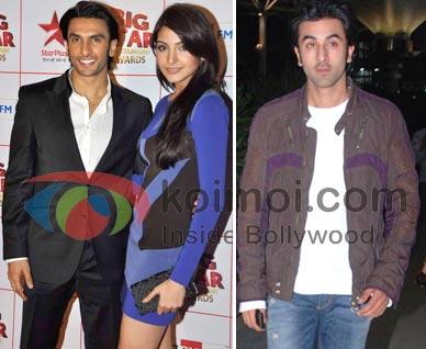 Ranveer Singh, Anushka Sharma, Ranbir Kapoor