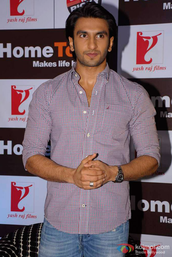 Ranveer Singh Promote 'Ladies VS Ricky Bahl' Movie