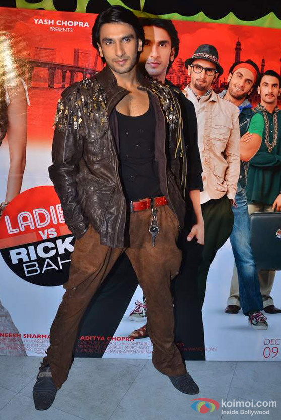 Ranveer Singh At 'Ladies VS Ricky Bahl' Movie Music Launch Event