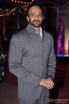 Rohit Shetty gives a shy smile