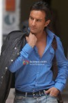 Saif Ali Khan with a jacket in Love Aaj Kal Movie