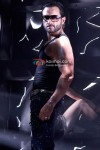 Saif Ali Khan in black in Race Movie