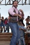 Saif Ali Khan on stage in Race Movie