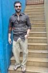 Saif Ali Khan at a promotional event for 'Aarakshan' Movie