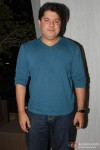 Sajid Khan gives a smile for the cameras