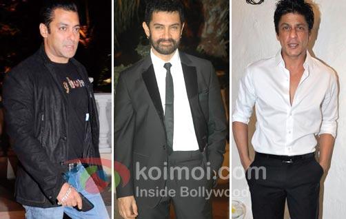 Salman Khan, Aamir Khan & Shah Rukh Khan Together!