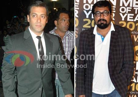 Salman Khan, Anurag Kashyap (Salman Khan Should Know I'm Not Afraid: Anurag Kashyap)
