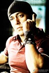 Salman Khan on the phone in Wanted Movie