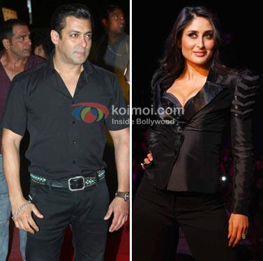 Salman Khan, Kareena Kapoor Celebrates Holi