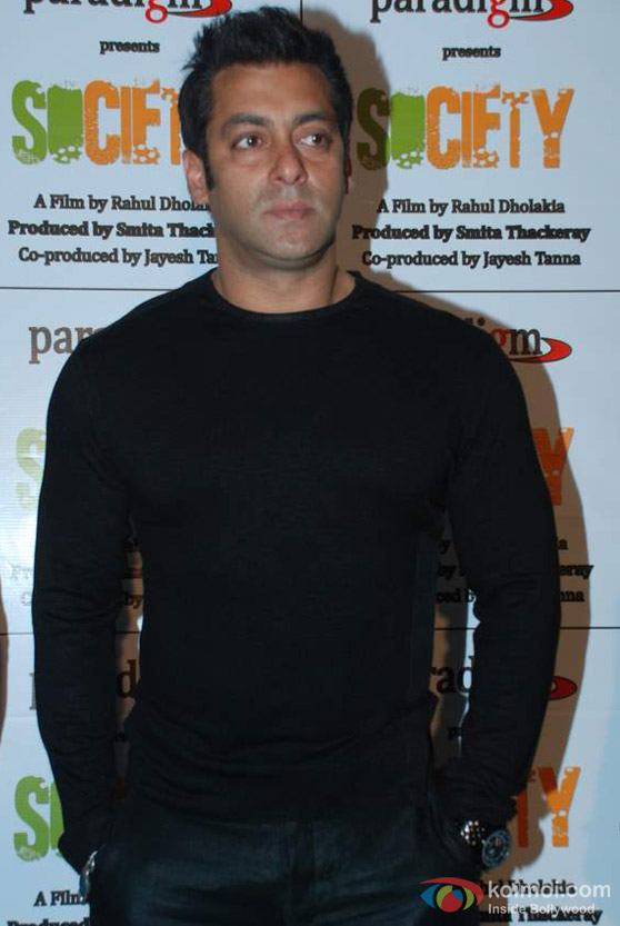 Salman Khan At Smita Thackeray's Film Society Launch Event