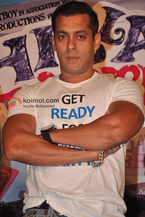 Salman Khan At Chillar Party Movie Media Meet Event