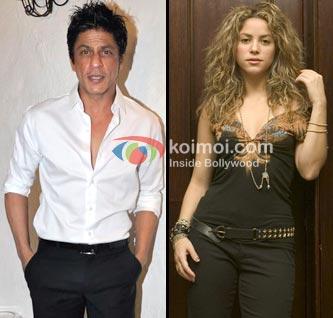 Shah Rukh Khan Gets Shakira For IPL