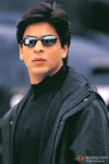 Shah Rukh Khan gets off the helicopter in Kabhi Khushi Kabhie Gham... Movie