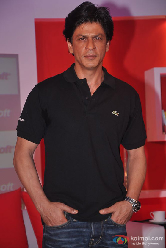 Shah Rukh Khan At 'Meet The Don 2: Mission Berlin' Contest Event