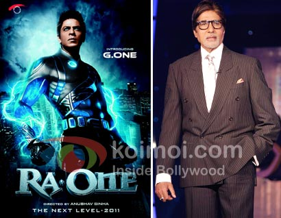 Shah Rukh Khan, Ra.One, Amitabh Bachchan & Cricket World Cup 2011