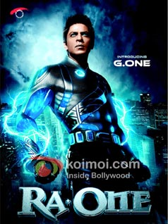 Shah Rukh Khan's Ra.One To Release On October 26