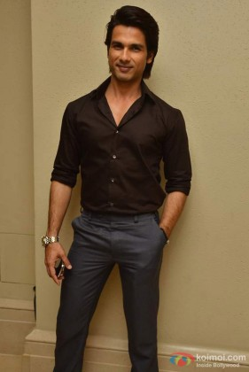 Shahid Kapoor At 'Mausam' Movie Music Success Bash Event