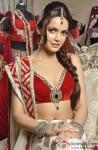 Shazahn Padamsee in designer bridal outfit