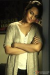 Sonakshi Sinha looking pretty in a still from Joker Movie