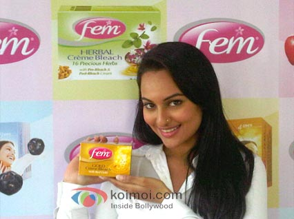 Sonakshi Sinha To Be The Face Of Fem