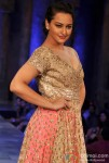 Sonakshi Sinha Walks The Ramp At Mijwan Sonnets in Fabric fashion show