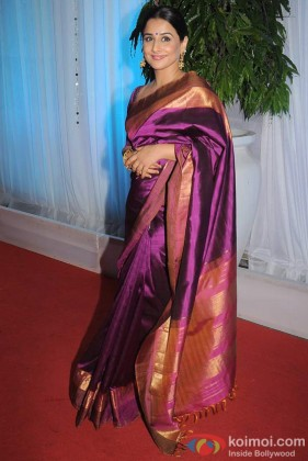 Vidya Balan at Esha Deol Wedding Reception Event