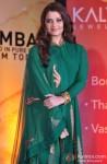 Aishwarya Rai poses during the opening ceremony of Kalyan Jewellers