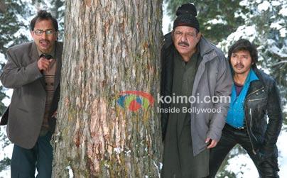 Deepak Dobriyal, Om Puri, Shreyas Talpade (3 Thay Bhai Preview)