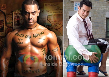 Aamir Khan Gets A New Trainer For Dhoom 3 (Aamir Khan Photos From Ghajini And 3 Idiots)