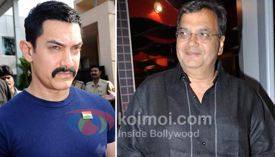 Aamir Khan, Subhash Ghai (Aamir Khan's Next With Reema Kagti Will Not Release This Year)
