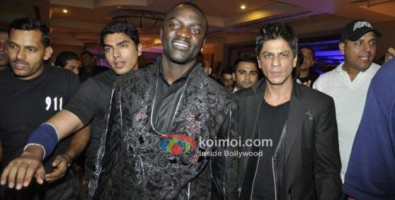 Akon To Celebrate His Birthday With Shah Rukh Khan